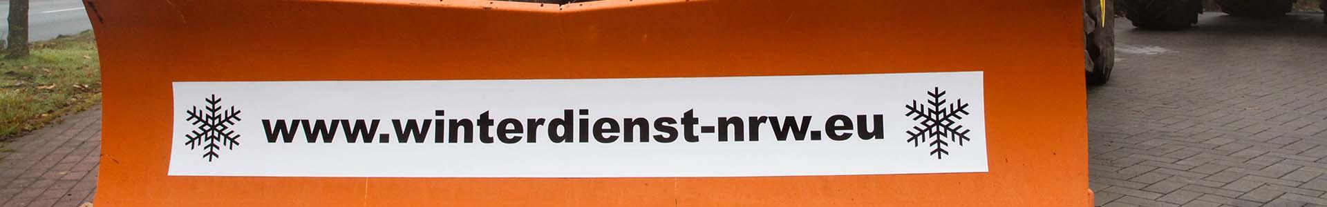 Winterdienst NRW Kontakt