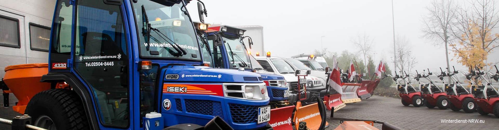 Winterdienst NRW Schneeräumung