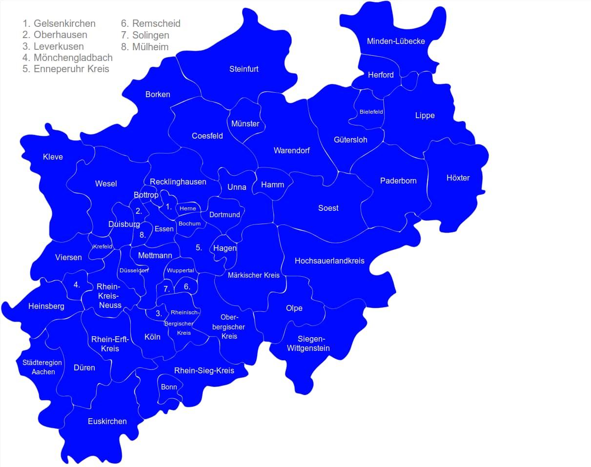 Karte-NRW